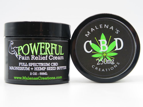 **CBD**Powerful Pain Relief Cream