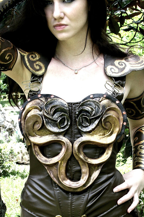 Xena Warrior Princess inspired Armor (Chest and Back Plates)