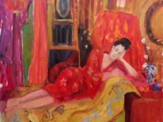 Meisje in kimono, Marianne Pruimboom
