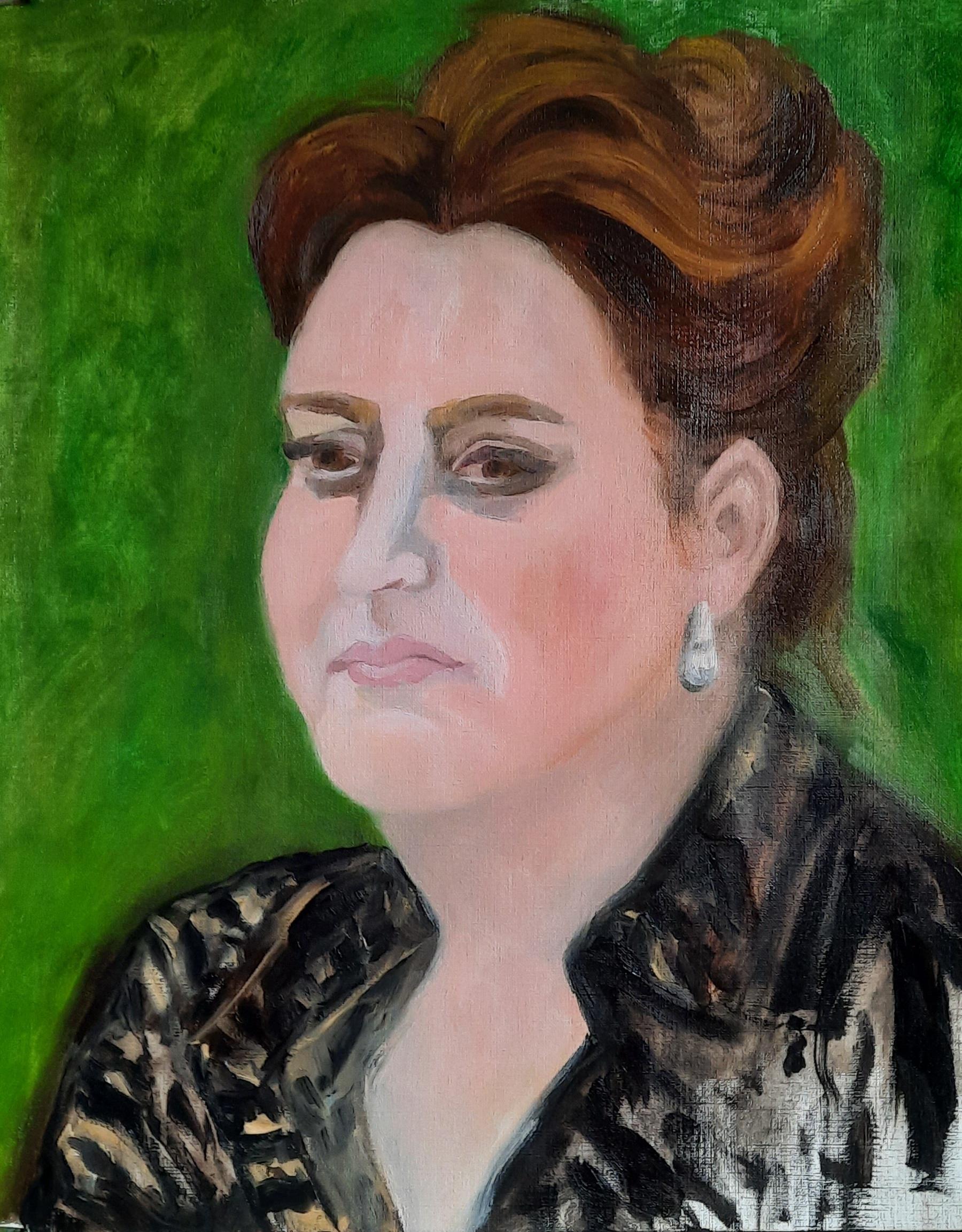 portret angela