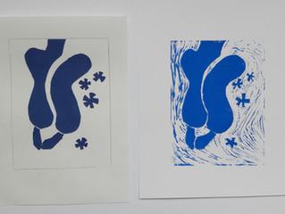 Model/Matisse/Linosnede