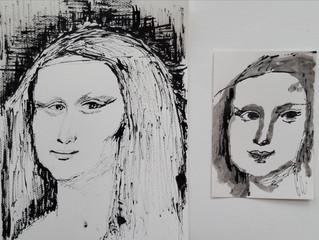 Mona Lisa als model