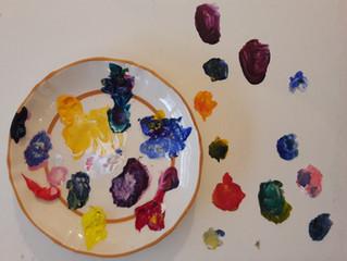Teken- en schilderles in Atelier Pruimboom, voorjaar 2020