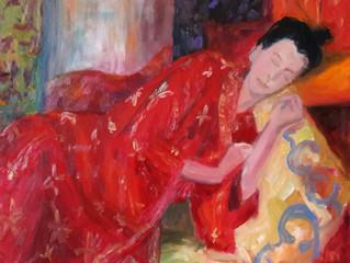 """Drie keer """"Meisje in kimono"""""""
