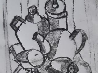 Workshop linosneden, meerkleurendruk