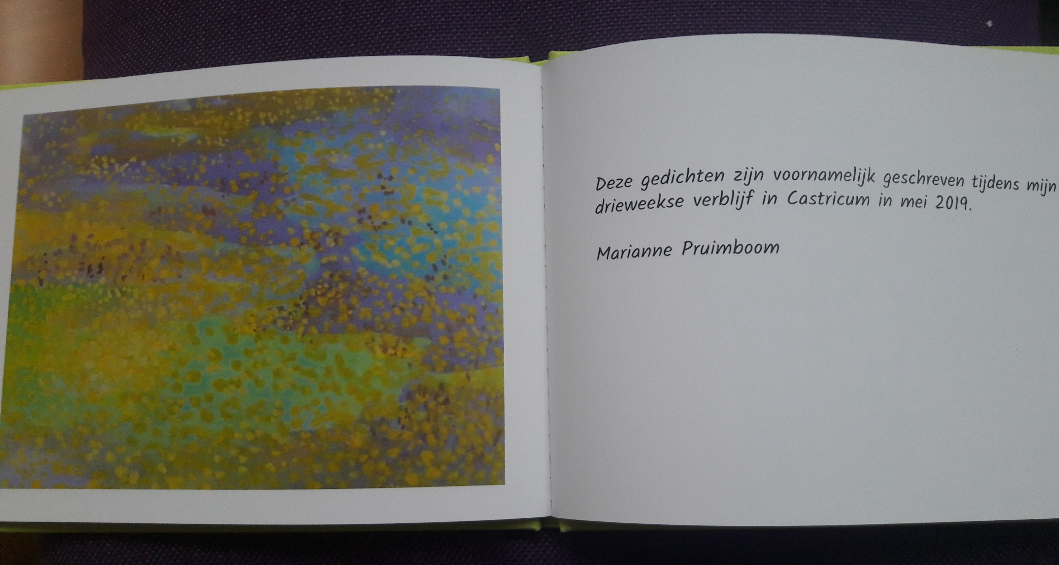 Gedichtenboekje laatste pagina