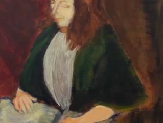 """Workshop Schilderen """"Portret van een lezende vrouw à la Rembrandt"""""""
