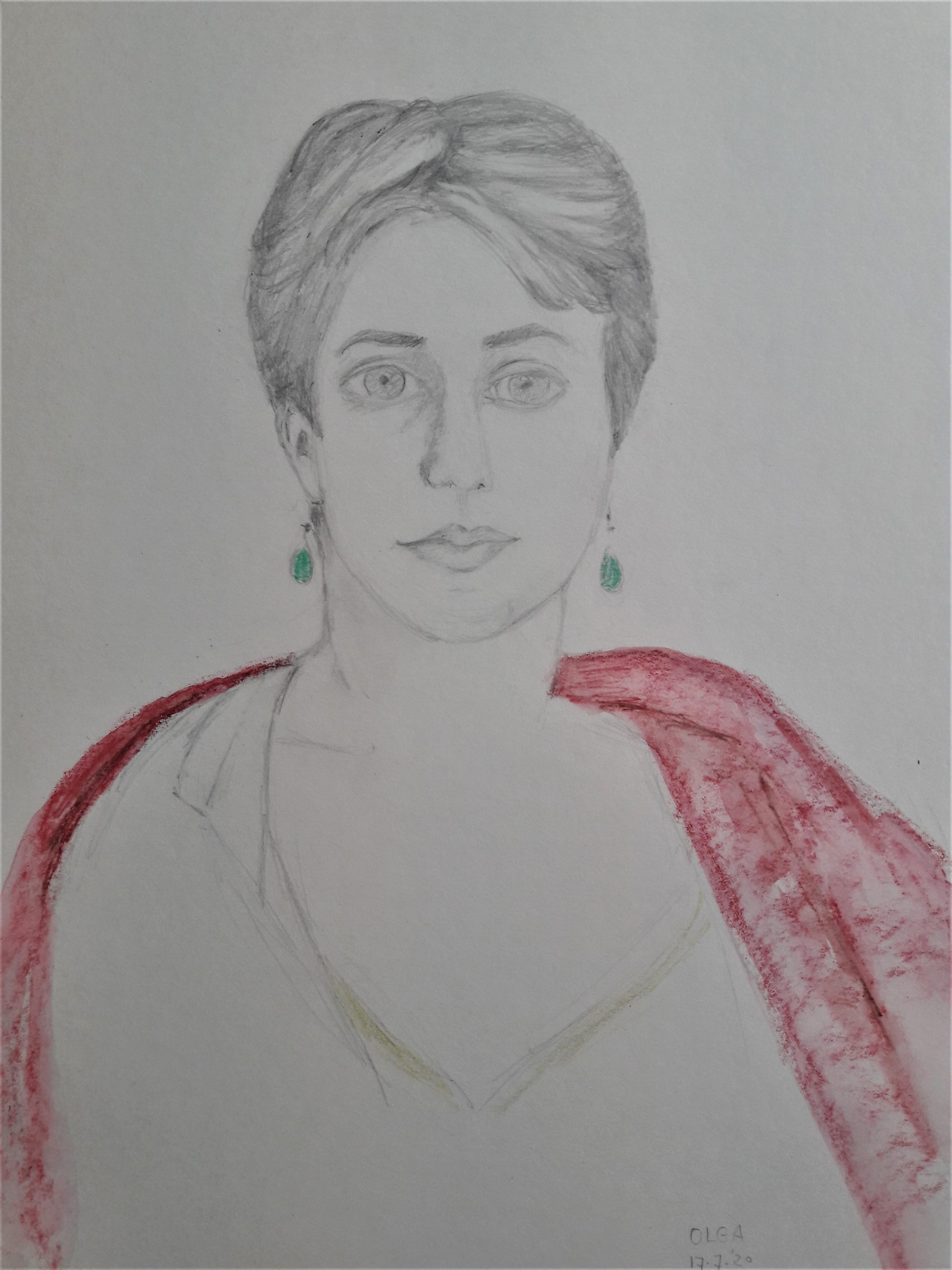 portret olga