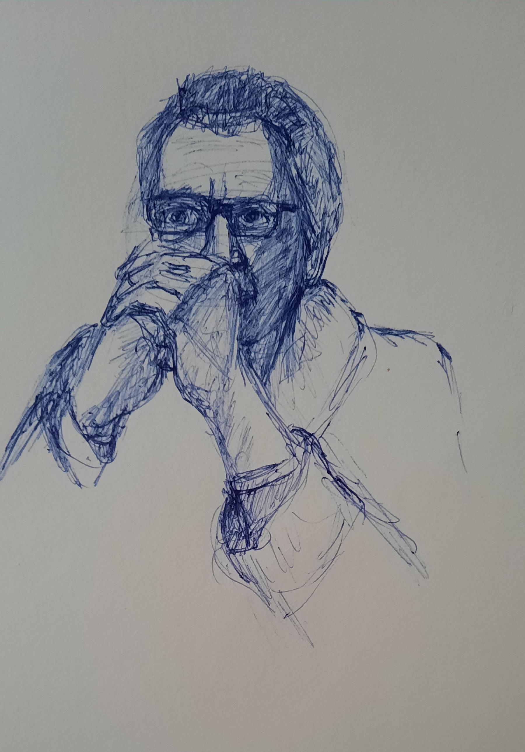 portret balpen Jonathan 1