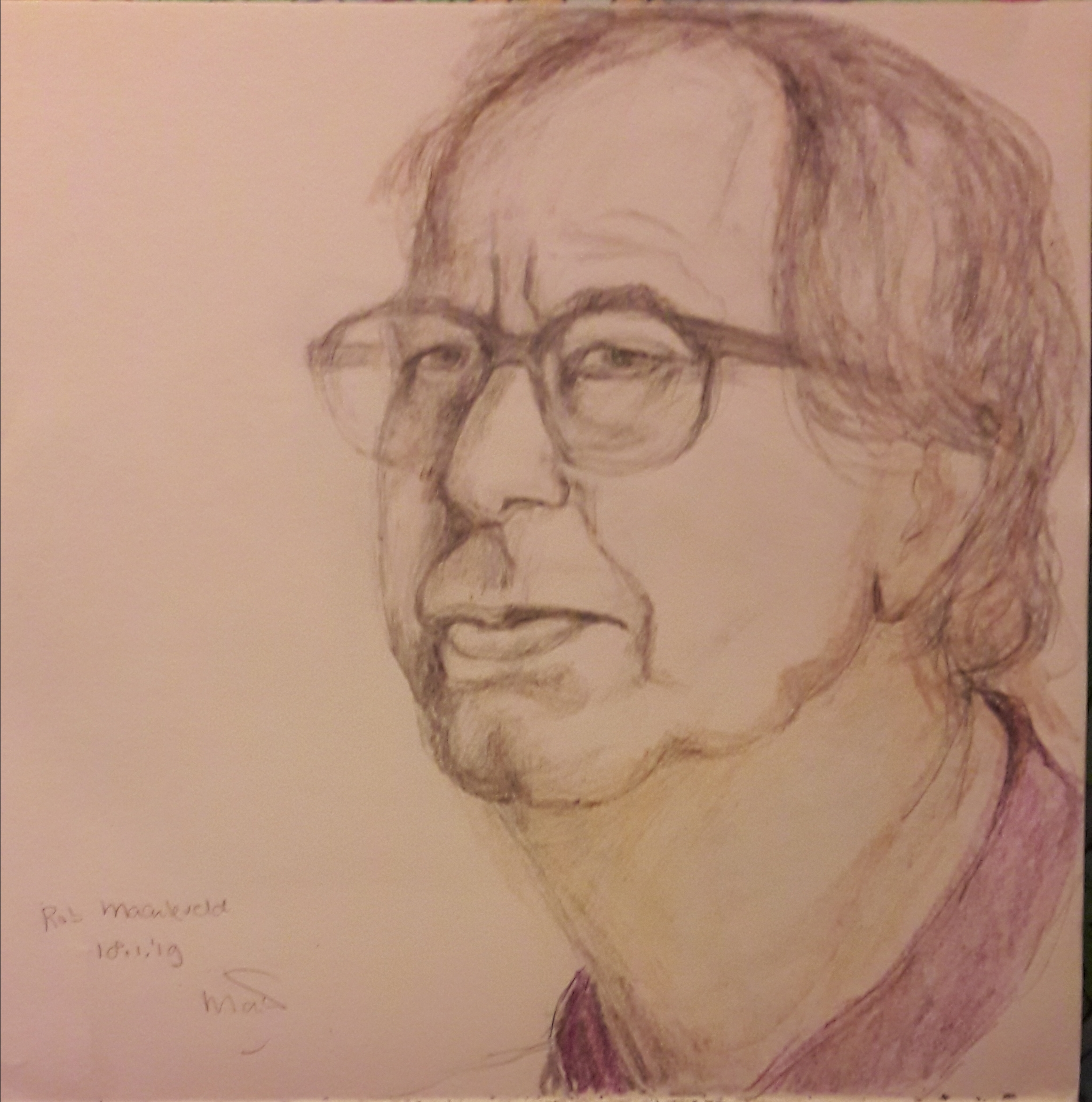 Portret Rob Maarleveld
