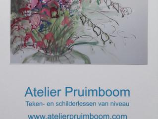 Teken- en schilderlessen, workshops na de vakantie tot kerst 2017