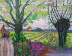 Pluktuin schilderij 2