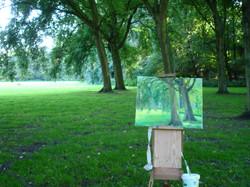 Rembrandtpark Aan het werk