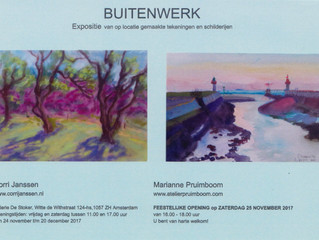 """Uitnodiging expositie """"Buitenwerk"""""""