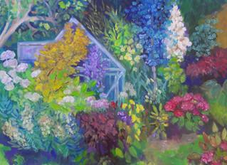 Een opdracht: de tuin van Margreet