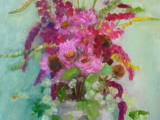 Bloemen uit de tuin van Wim