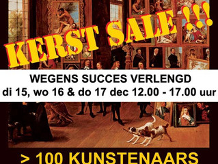 WG Kerst Sale verlengd!