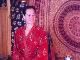 Model in kimono, deel I