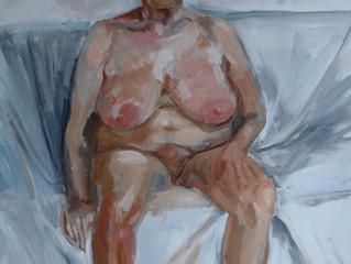 """Workshop """"Naaktmodel geinspireerd door het werk van Lucian Freud"""""""