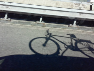 Ook de fiets gaat erop uit