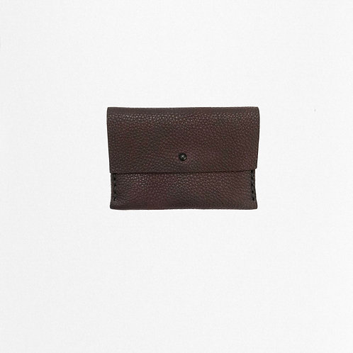 Castagno cardholder made of bio leather from Disselhoff