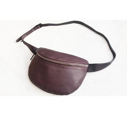 belt bag #ID15_18, castagno