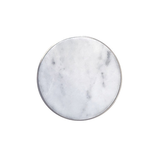 white marble clasp with grey veins disselhoff