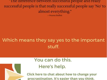 4 Smart Procrastination Busters