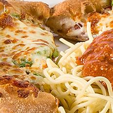 Pizza 6'' et spaghettini