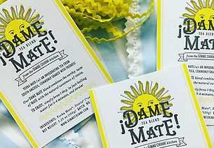 #crafting our #damemate #yerbamate packa
