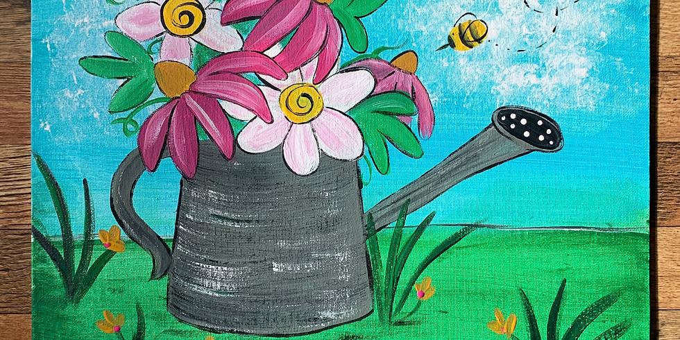 Fundraiser - Adult Paint & Sip Class CPCS
