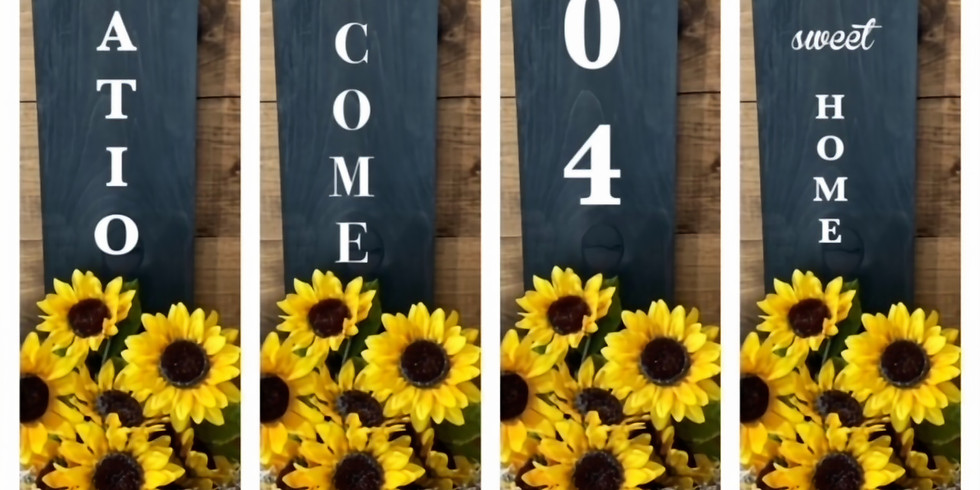 Wooden Hanging Sign Box - Class #2