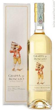 Grappa di Moscato Montanaro蒙塔那羅蒸餾廠麝香葡萄義式白蘭地