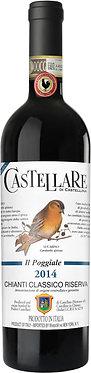 Castellare di Castellina Chianti Classico Riserva IL Poggiale 2014卡斯泰利酒莊特級古典奇揚第