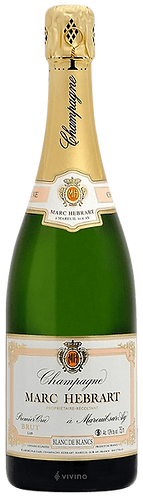 Marc Hebrart 1er Cru Blanc de Blancs Brut NV 瑪黑一級園無年分白中白香檳
