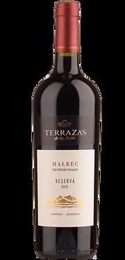 Terrazas Reserva Malbec 2015 阿根廷臺階典藏馬爾貝紅酒