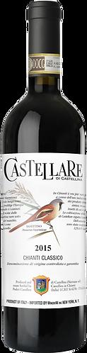 Castellare di Castellina Chianti Classico DOCG 2015卡斯泰利酒莊古典奇揚第紅酒