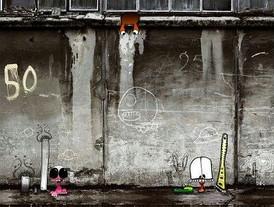 TABLEAUX ET TENTURES MURALESthème urban way