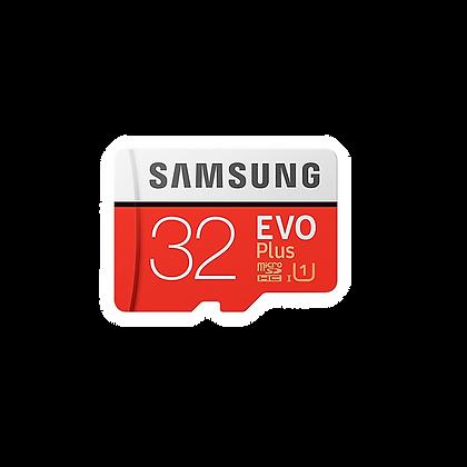 Samsung Micro SD Card - Red&White