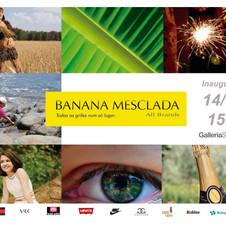 Convite Banana Mesclada