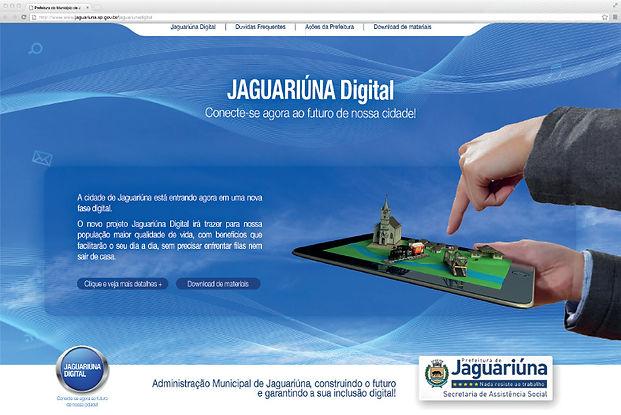 Hotsite - Prefeitura de Jaguariúna