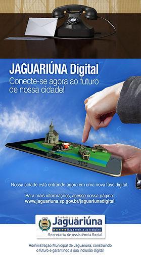 Anúncio de Jornal - Prefeitura de Jaguariúna