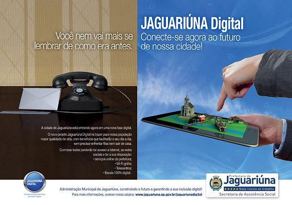 Anúncio de Revista - Prefeitura de Jaguariúna