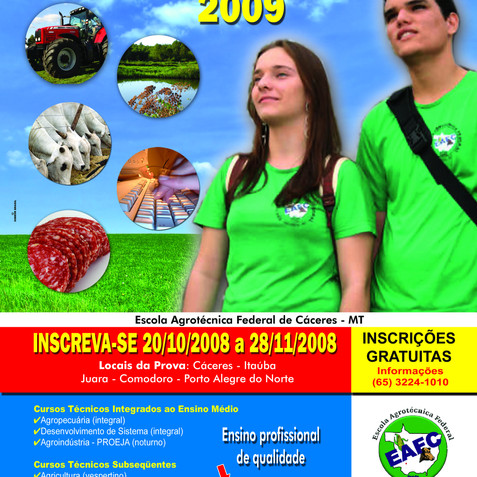 Escola Agrotécnica Federal de Cáceres MT