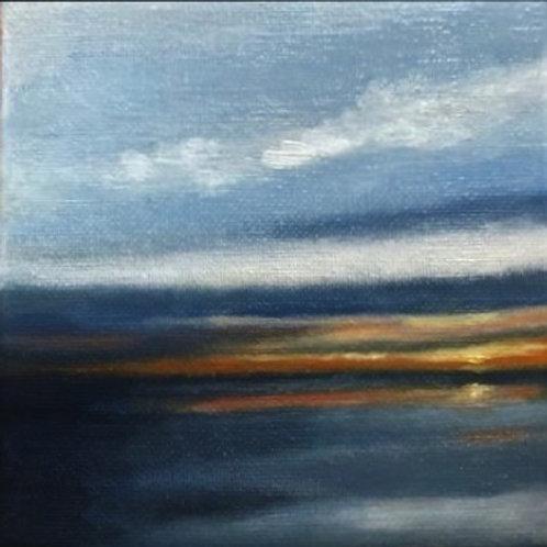 'Half Moon Bay Sunset 2' $100