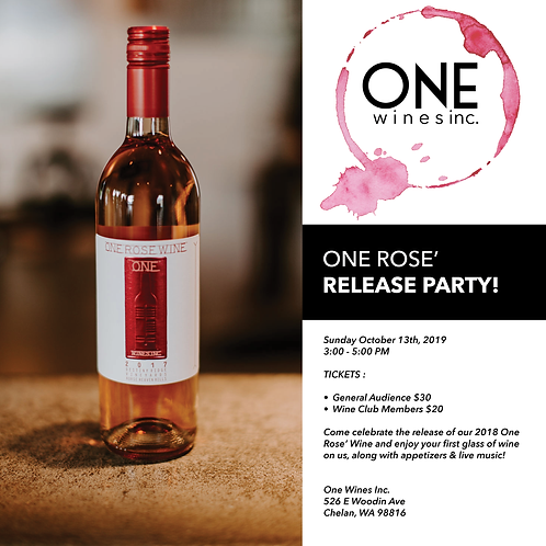One Rose' Release Party Tickets