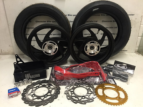 HONDA CRF150R MOBSTER WHEEL SUPERMOTO CONVERSION KIT WITHOUT SUSPENSION UPGRADE