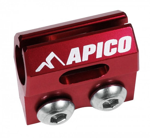 APICO FRONT BRAKE HOSE LINE FORK CLAMP