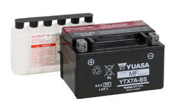 YUASA YTX7A-BS MOTORCYCLE SCOOTER MOPED BATTERY MAINTENANCE FREE