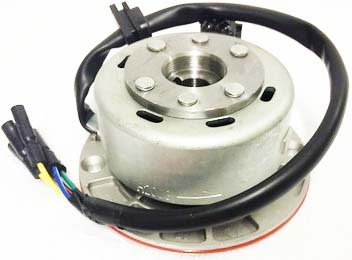 RACE Stator plate WITH lightened flywheel outer rotor kit 3 WIRE